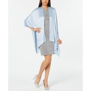 INC Solid Gemstone Oversized Evening Party Wrap